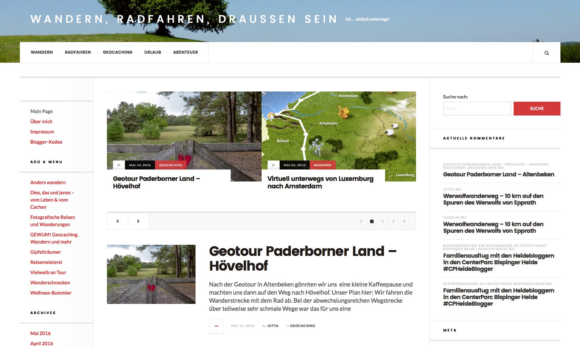 Icheinfachunterwegs berichtet über die GeoTour Paderborner Land