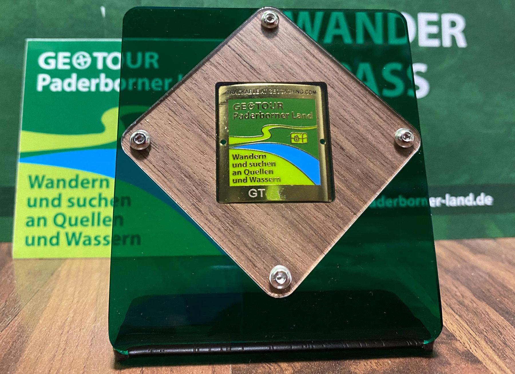 Neu: Der Geotour Coin-Präsenter